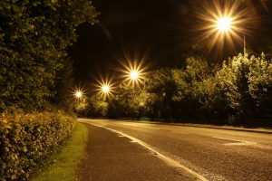 Slow shutter speed with an f22 aperture