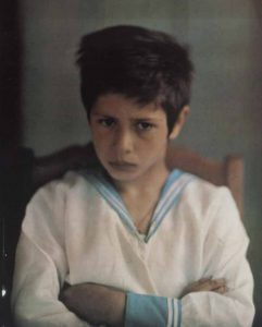 Part of a steroscope Autochrome by Leonid Andreyev