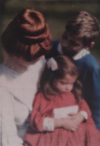 Nanny Mary Warner with Lotte and Hans Kūhn - Heinrich Kūhn