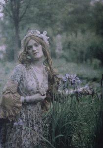 Untitled (Woman Posing in a Garden) Paul Bergon
