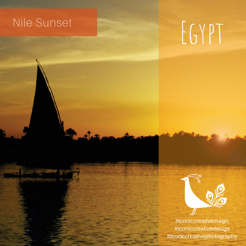 Nile Sunset, Egypt