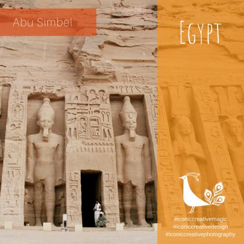 Abu Simbel, Egypt, frontage