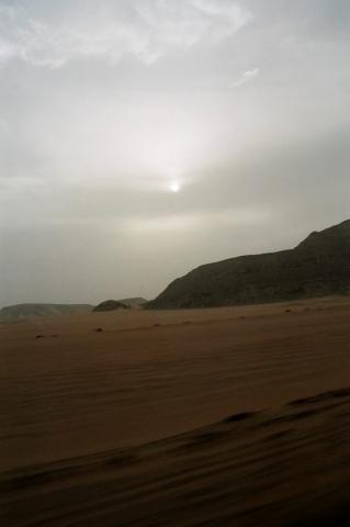 The desert, Egypt