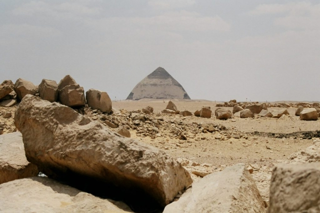 Bent Pyramid of Sneferu, Egypt