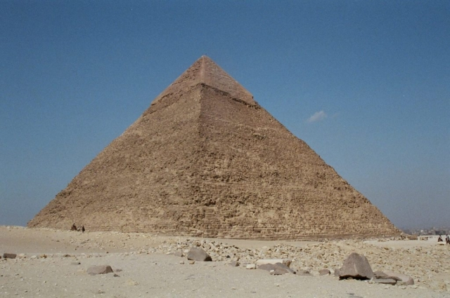 The Great pyramid, Cairo, Egypt