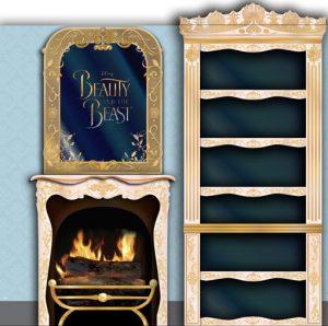 Beauty & the Beast 1.5 panel exhibition panel design
