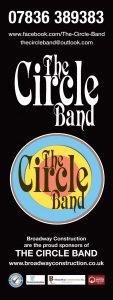 Circle Band pop up banner