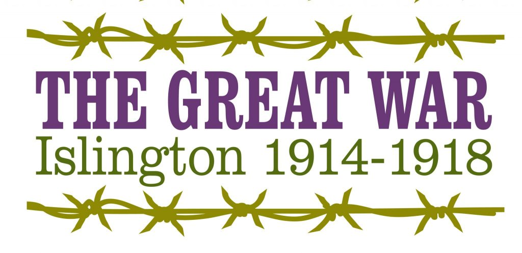 The Great War logo for Islington Heritage Centre