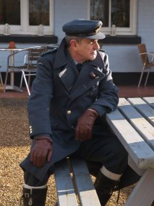 What did you do in the war Grandad? Shooting the flashback scenes at The Golden Pot in Lasham