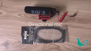 Rode directional mic for mobile phone filming kit