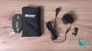 Lavalier mic for mobile phone filming kit