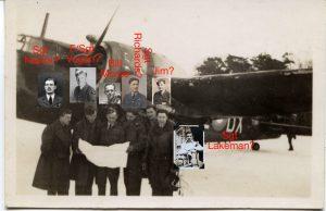 The crew of Wellington x3757