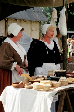 Cheesemakers at Bolsover Castle